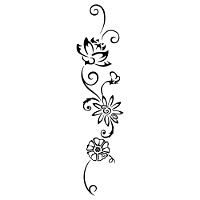Birth flowers tattoo