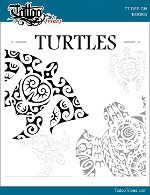Turtles tattoos book