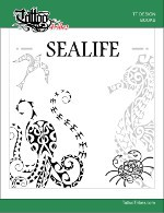 Sealife Design Book - Front cover