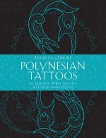 Polynesian Tattoos coloring book - Front cover