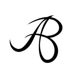AB monogram tattoo