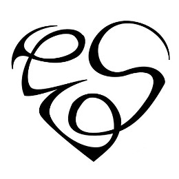E+S heart tattoo