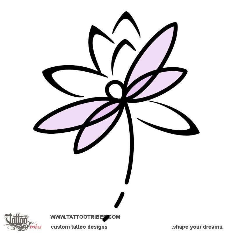 Tattoo Of Lotus And Dragonfly Transformation Tattoo