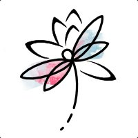 Dragonfly lotus flower tattoo