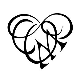Tattoo of O+C+M infinity heart, Love tattoo - custom tattoo