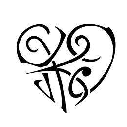Y+K+I heart tattoos