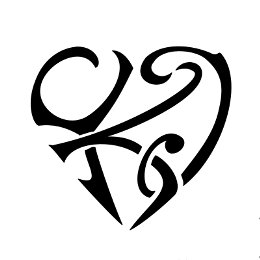 Y+K+I heart tattoo