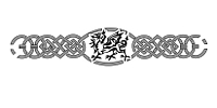 Armband tattoo with Welsh dragon and motifs