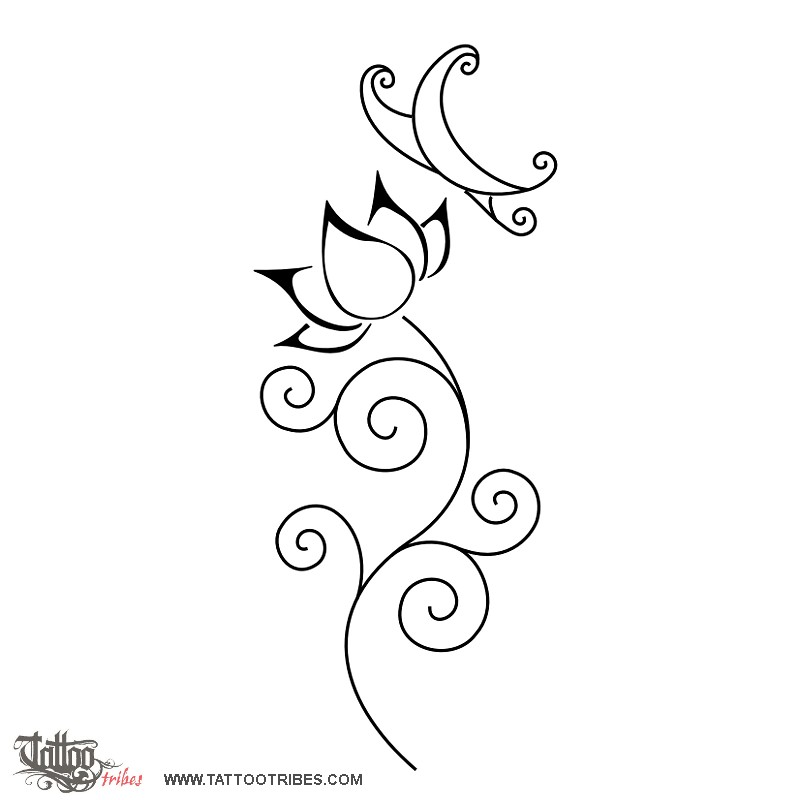 Tattoo Of Butterfly Symbols Tattoo Custom Tattoo Designs On
