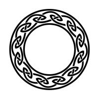 Irish circle tattoo - infinity