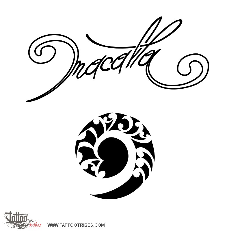 tattoo of macalla past and future tattoo custom tattoo designs on. Black Bedroom Furniture Sets. Home Design Ideas