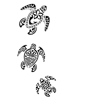 3 turtles personality tattoo