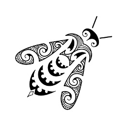 AIR - Maori bee tattoo