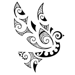 AIR - Maori dove tattoo