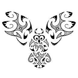 AIR - Maori owl tattoo