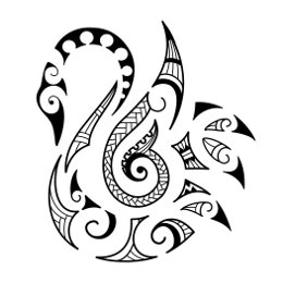 AIR - Maori swan tattoo