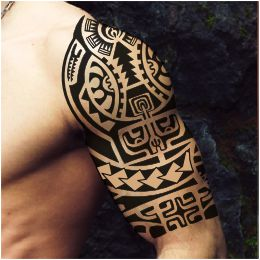 Warrior Marquesan tattoo