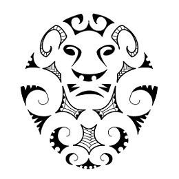 EARTH: Maori lion tattoo