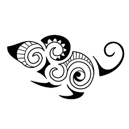 Earth - Maori mouse tattoo