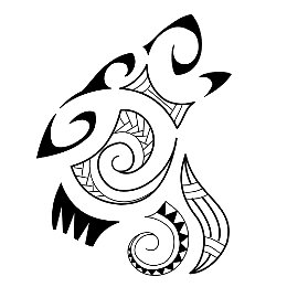 EARTH - Maori wolf tattoo