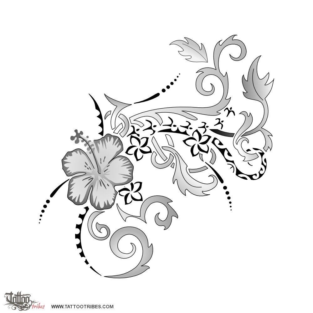 tattoo of flourished vines ode to life tattoo custom tattoo designs on. Black Bedroom Furniture Sets. Home Design Ideas