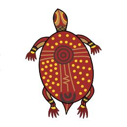 Aboriginal turtle tattoo