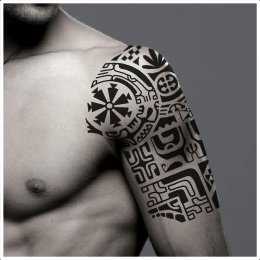 Marquesan change tattoo