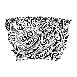 Tongan Polish armband tattoo