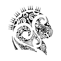 Taniwha guardian tattoo