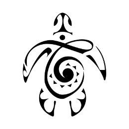 T koru turtle tattoo