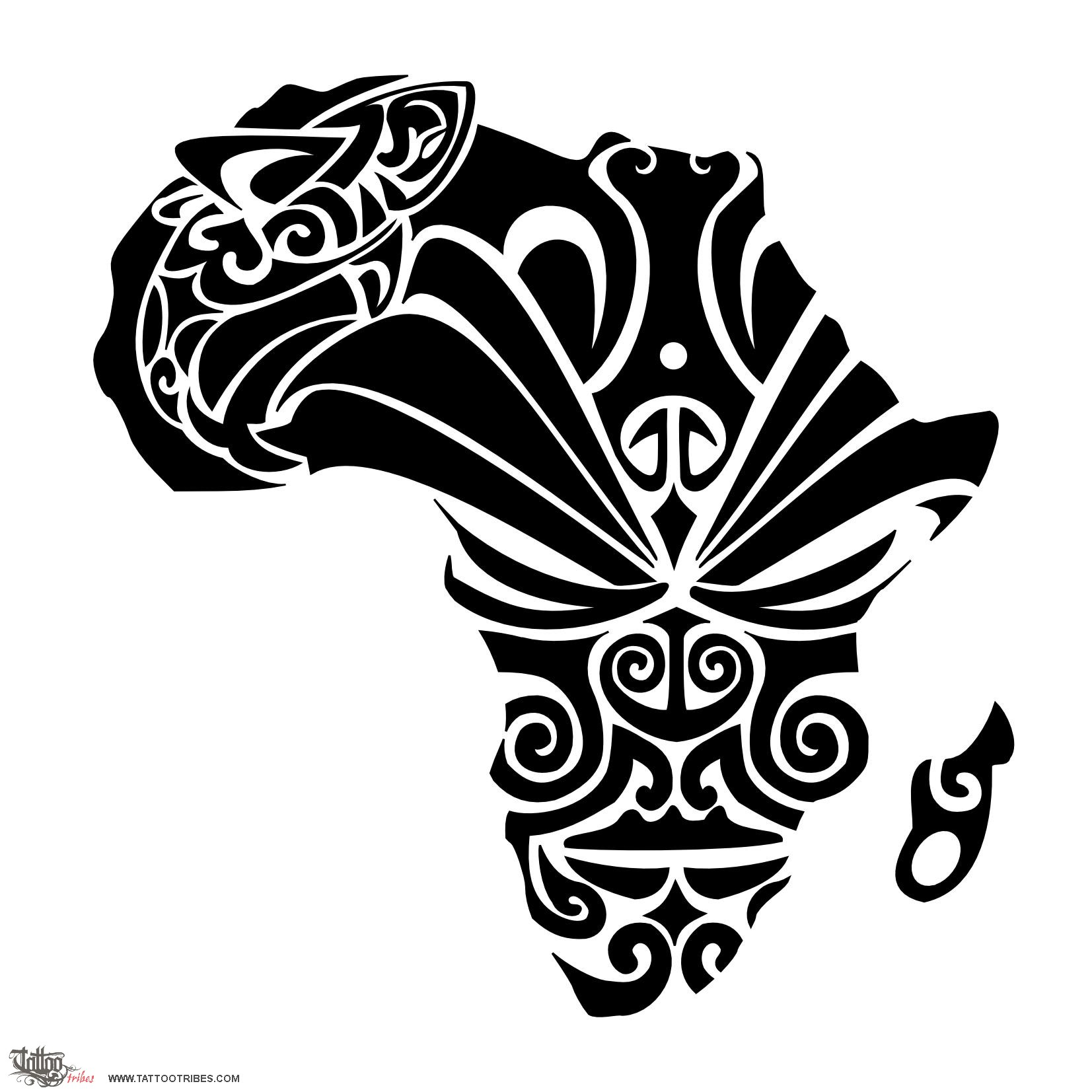 African Tattoos Designs: Tattoo Of African Dream, Courage, Dream Tattoo
