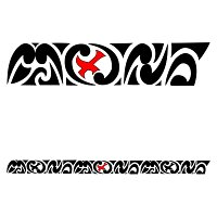 MONX maorigram tattoo