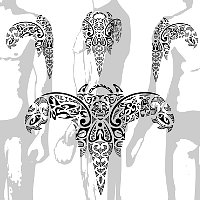Maori composite angel tattoo