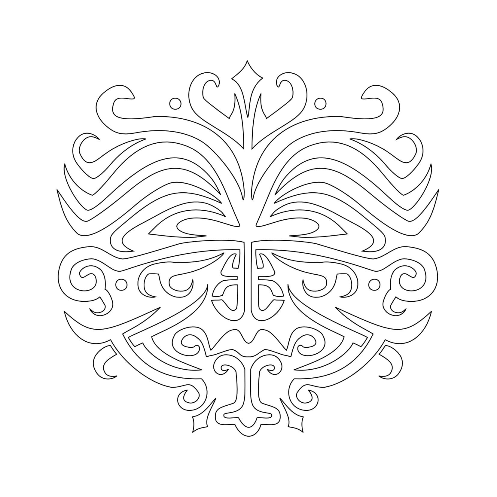 maori tattoo vorlagen oberarm