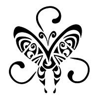 Mauri - life force butterfly tattoo