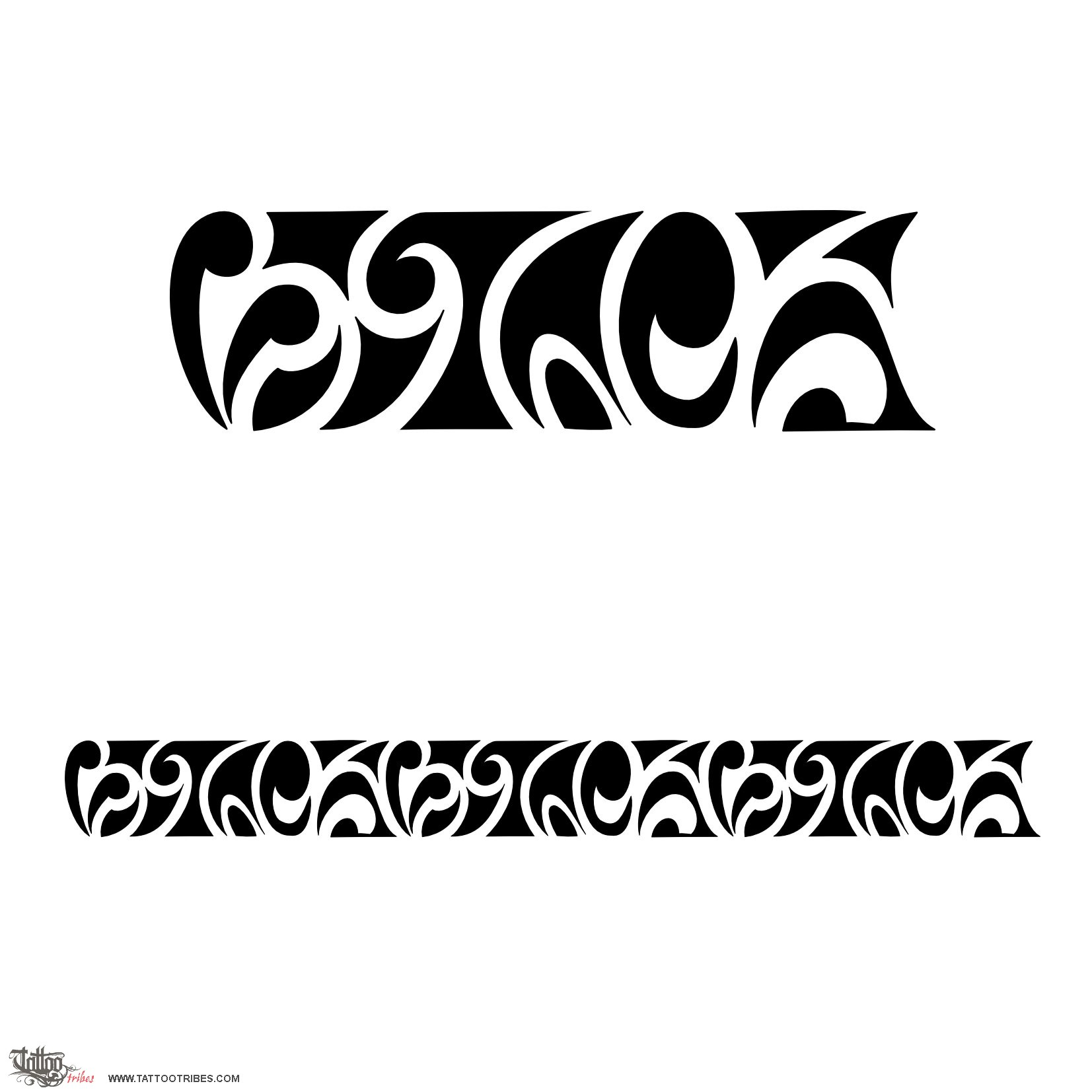 Tattoo of Maorigram VTC letters tattoo custom tattoo designs on