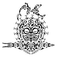 Protection Maori half sleeve tattoo