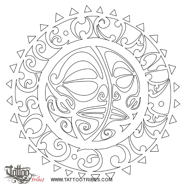 Sun And Moon Stencils – Daily Motivational Quotes