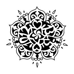 Mandala birthtime tattoo