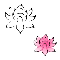 Essential water lily tattoo