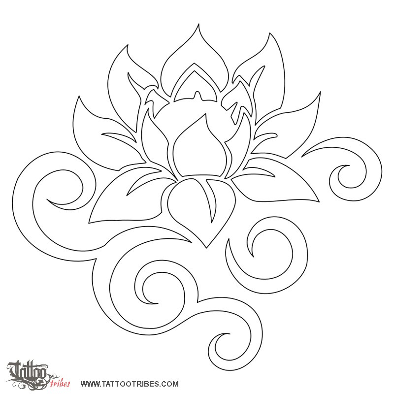tribal flower tattoos on pinterest flower tattoos tribal tattoos
