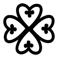 Adinkra - Nyame dua tattoo - Protection