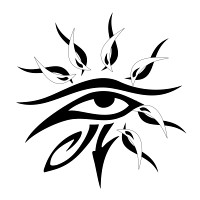 Eye of Horus - Sun Ra tattoo