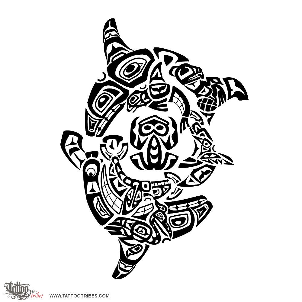 Tattoo of killer whales family tattoo custom tattoo for Tribal tattoos that represent family