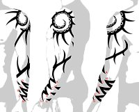 Arm sleeve tribal - (1) How it looks