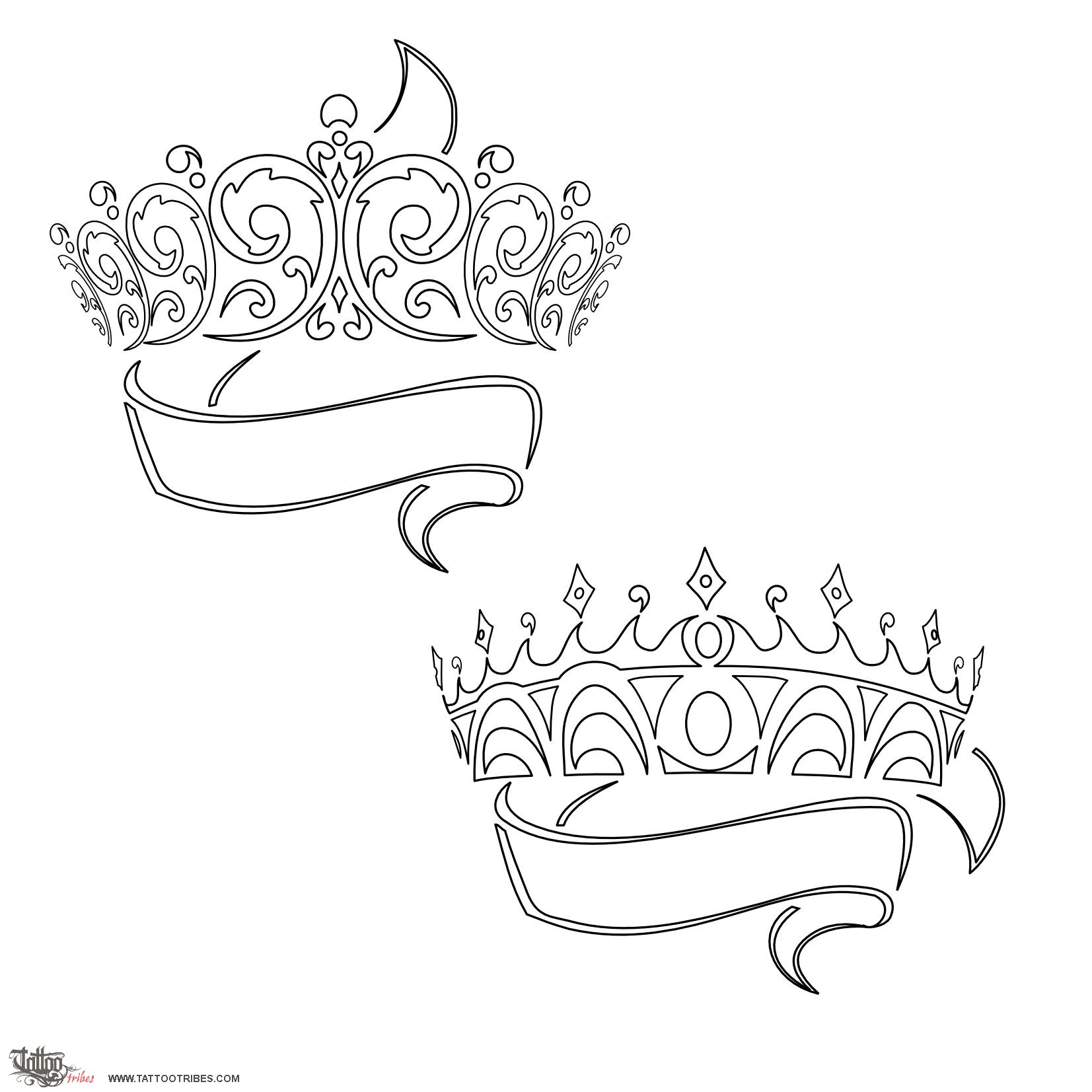 Stencil King Crown: Tattoo Of Crowns, Sovereignty Tattoo