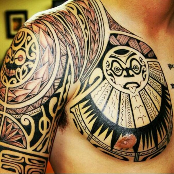 Guest - Polynesian chest and arm