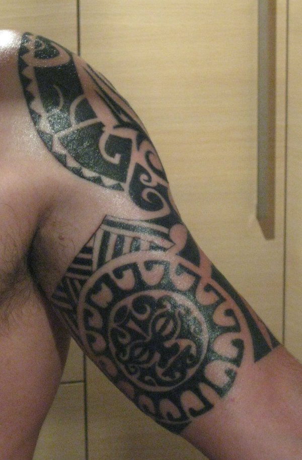 James - Polynesian arm inside
