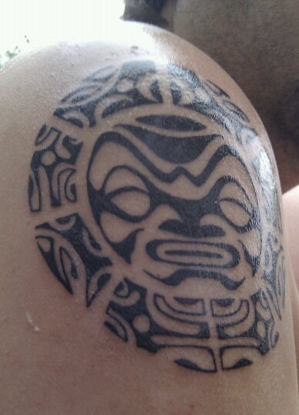 Kris polynesian sun for Polynesian sun tattoo